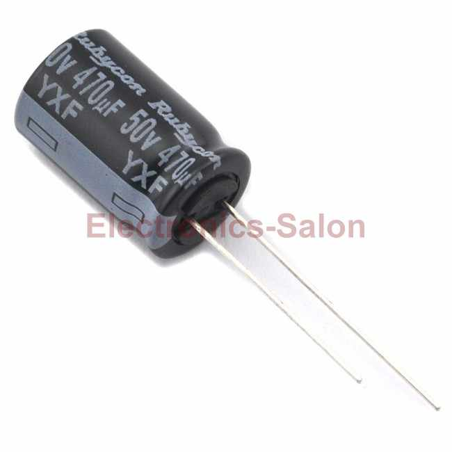 Condensador electrolítico Radial 10uF 35 V microminiatura Pack 10
