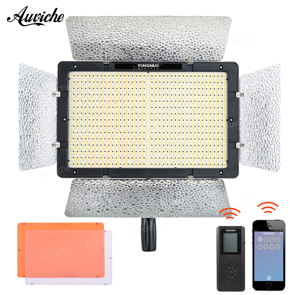 Yongnuo YN1200 3200-5500K LED Video Light Fill lightMobile APP Wireless remote for Studio photography Video