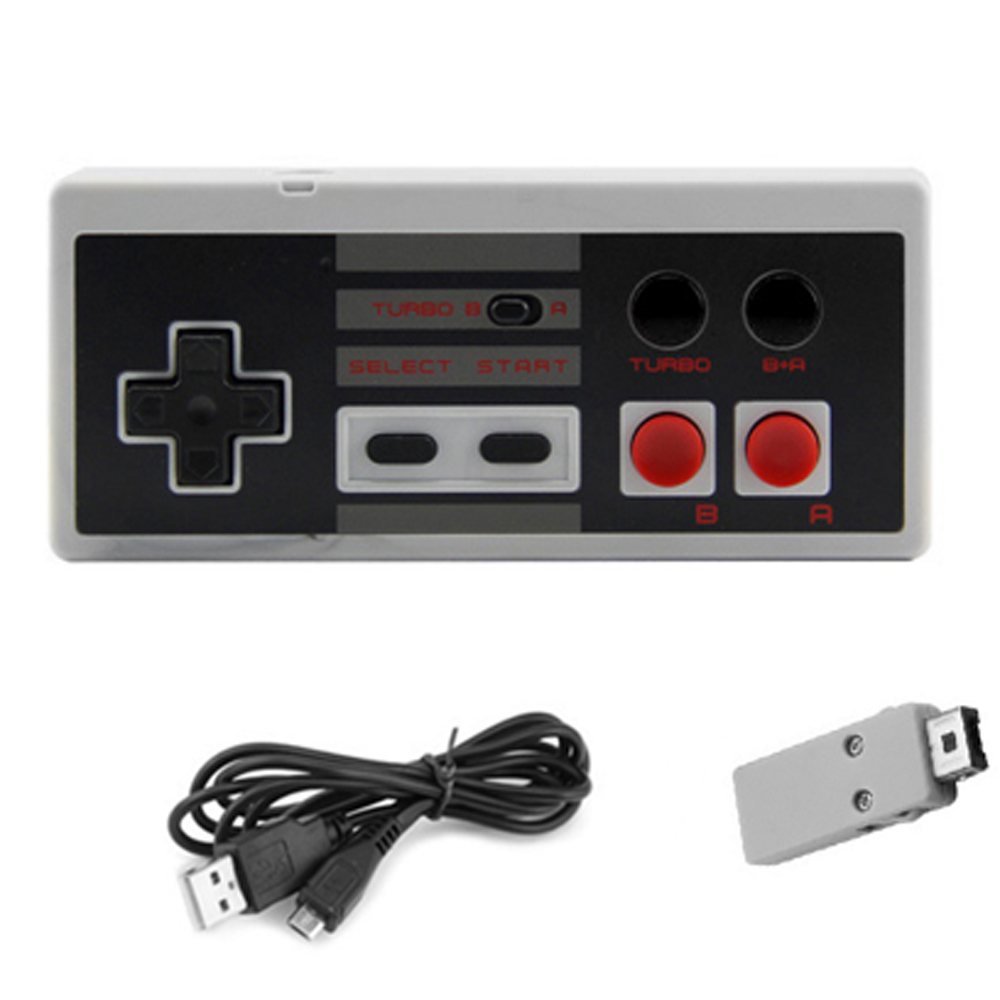 New arriving 2.4GHz Wireless game controller game pad for N E S mini game console