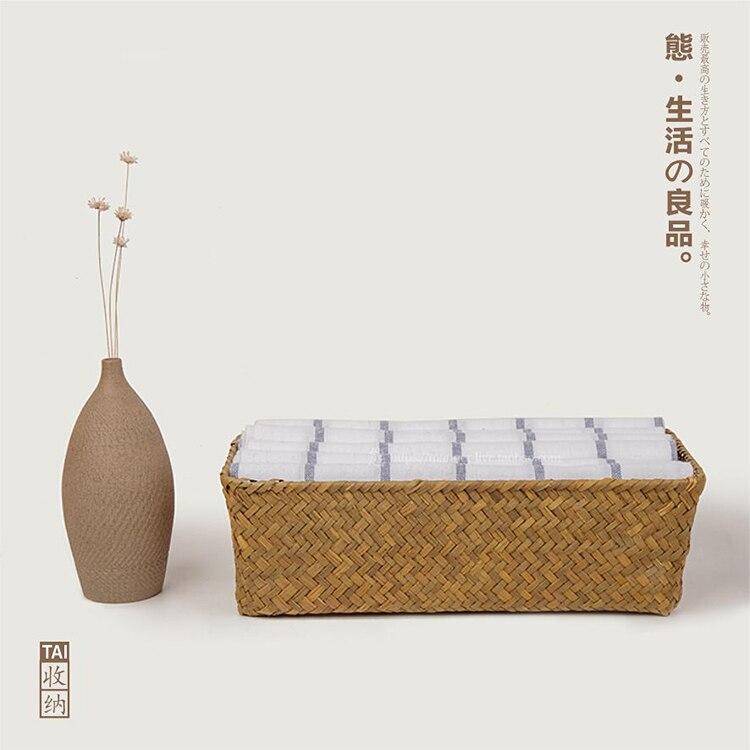 ₪Seawave cesta hecha a mano de almacenamiento cestas de ...