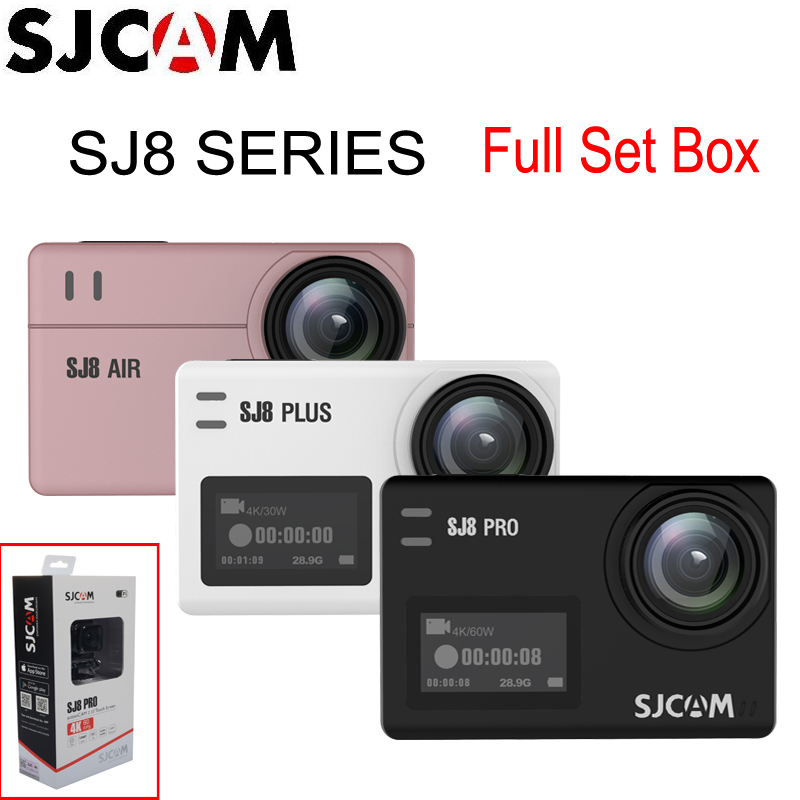 Pro Plus SJ8 Air WiFi Remote Helmet Sports Action Camera Full Accessories Set SJCAM