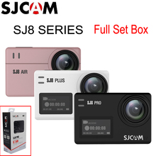SJCAM SJ8 Pro & SJ8 Plus & SJ8 Air WiFi Remote Helmet Sports Action Camera Full Accessories Set Big Box   100% Original SJCAM