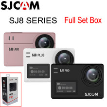 SJCAM SJ8 Pro & SJ8 Plus & SJ8 Air WiFi Remote Helmet Sports Action Camera Full Accessories Set Big Box - 100% Original SJCAM(China)