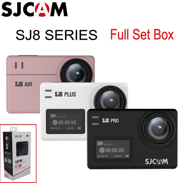 SJCAM SJ8 Pro & SJ8 Plus & SJ8 Air WiFi Remote Helmet Sports Action Camera Full Accessories Set Big Box - 100% Original SJCAM