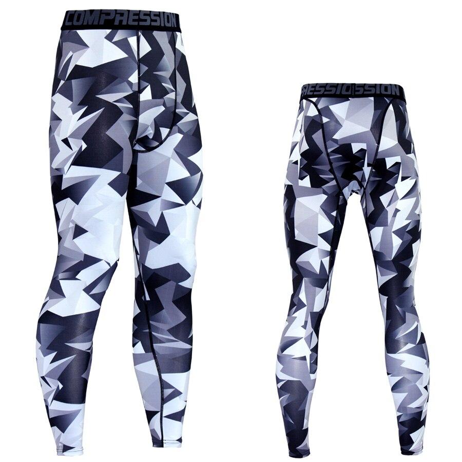 2017 Hombres Pantalones de Compresión Pantalones Casuales Jogger - Ropa de hombre