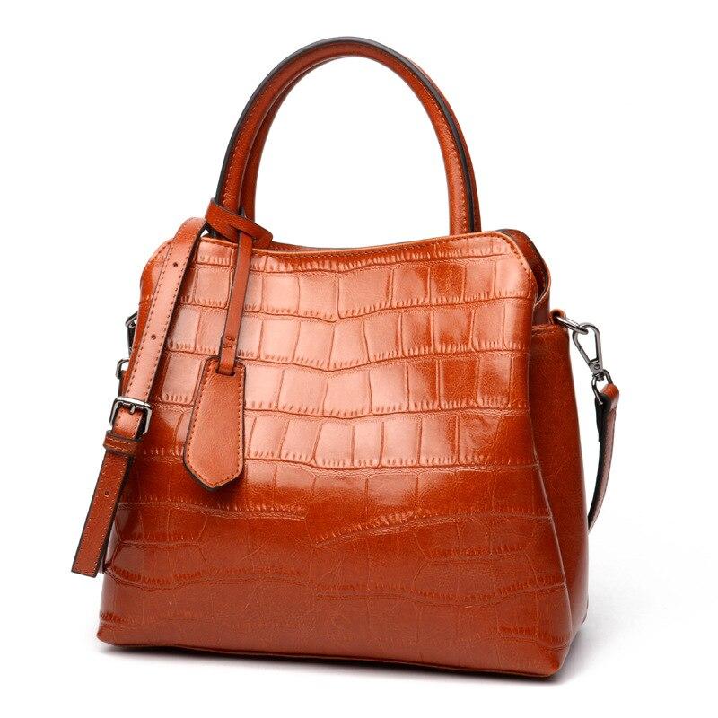 2017 Femmes en cuir D'épaule Sac Shell Sacs Casual Sacs À Main petit sac de messager de mode 100% en cuir véritable