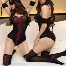 2016 New Lady Sexy Porn Lingerie Women Sexy Bodysuit Teddy Erotic Costumes Underwear Sexy Lingerie Set Bodystocking Sex Products