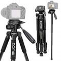 ZOMEI Q222 штатив для камеры Tripode Гибкий штатив для фотоаппарата монопод туристический стенд для смартфона камера DSLR проектор