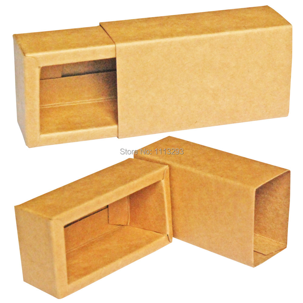 Coloring online no printing - Customizable Kraft Paper Boxes Of 10ml Essential Oils Drawer Style Original Color No Printing Recyclable Environment Friendly