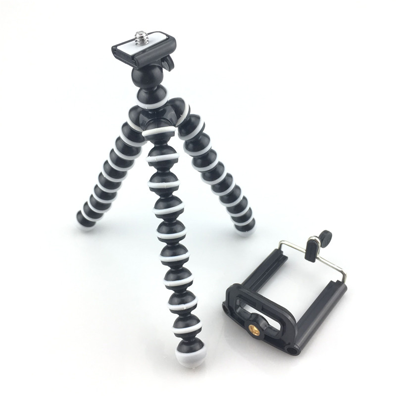 Mini Octopus Tripod Holder Mobile Phone Tripod Gorillapod For iPhone X Universal Smartphone Sports Camera Gopro Stand qingzhuangshidai universal mini tripod desktop handle stabilizer for mobile phone camera with cell phone holder