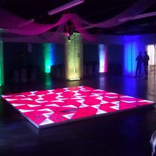 48pcs/lot Best Price RGB Stage Led Dance Floor 1M*1M led display floor wedding dance floors for sale(China)