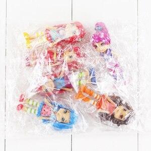 Image 5 - 6 יח\סט 8cm פולי פעולה איור עוגת תות Berryfest נסיכת בובת עוגת מיקרו קיד מסיבת צעצוע מתנות