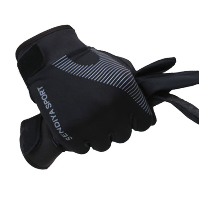 Outdoor Running Gloves Full Finger Touchscreen Cycling Gloves (1)