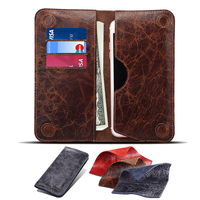 For IPhone 7 6s 6 Plus Cases 5 5 Inch Universal Genuine Leather Cover Fundas Wallet