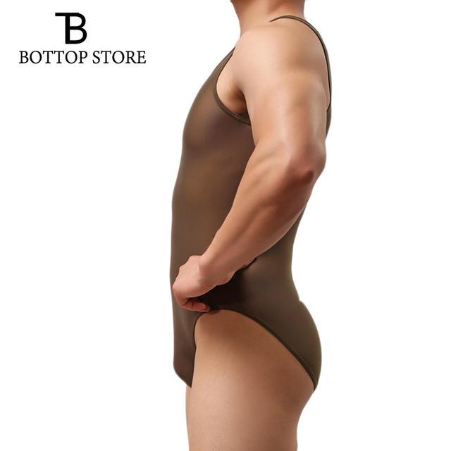 Men Slimming Underwear Body Shaper Hot Man Vest Shaperwear Bodysuit Lingerie Male Corset Cincher Tight Body Building Suit Single