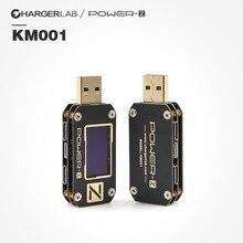 ChargerLAB POWER-Z PD тестер USB напряжение и ток пульсация двойной тип-c инструмент KM001