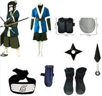 Anime Naruto Cosplay Naruto cosplay Haku Ha Bundle Big Promotional Package Cosplay Costume Set Freeshipping