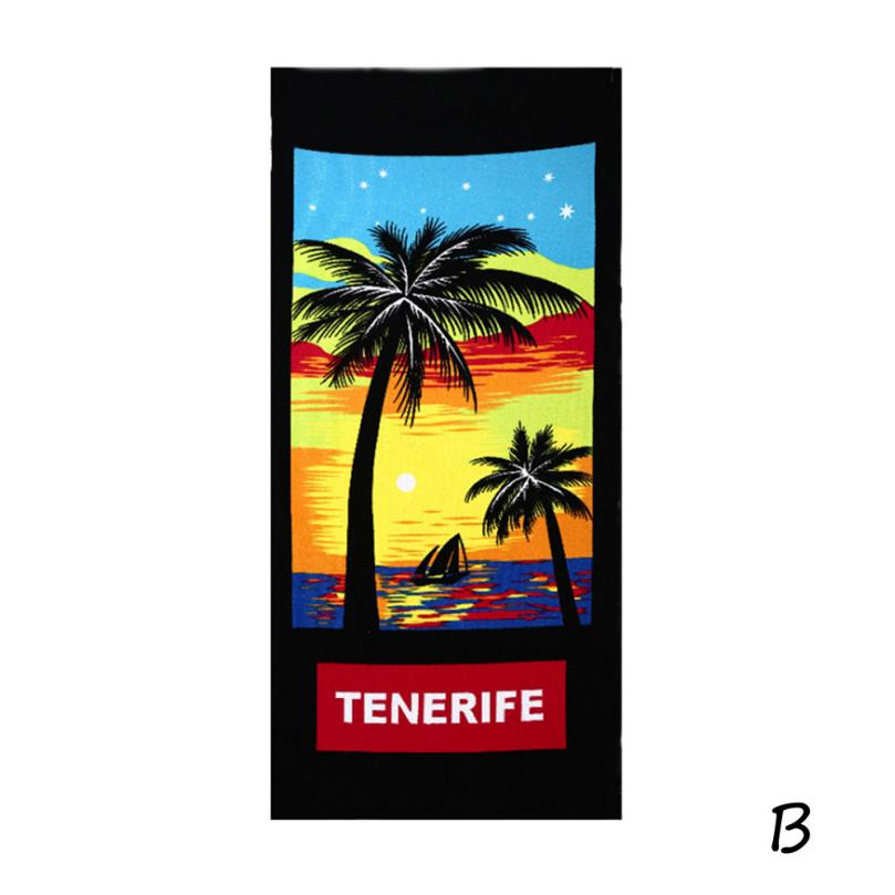 Square Beach Towel Sand Beach Flag Printed Beach Cover Up Bikini Beach Picnic Towel Blanket 70cm*150cm Dec 8