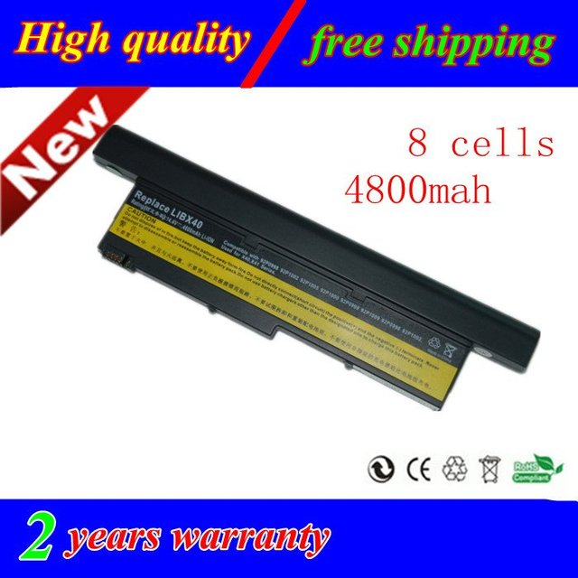 HOT new 8 cell laptop battery for IBM Lenovo ThinkPad X40 X41 92P0999 92P1119 FREE SHIPPING