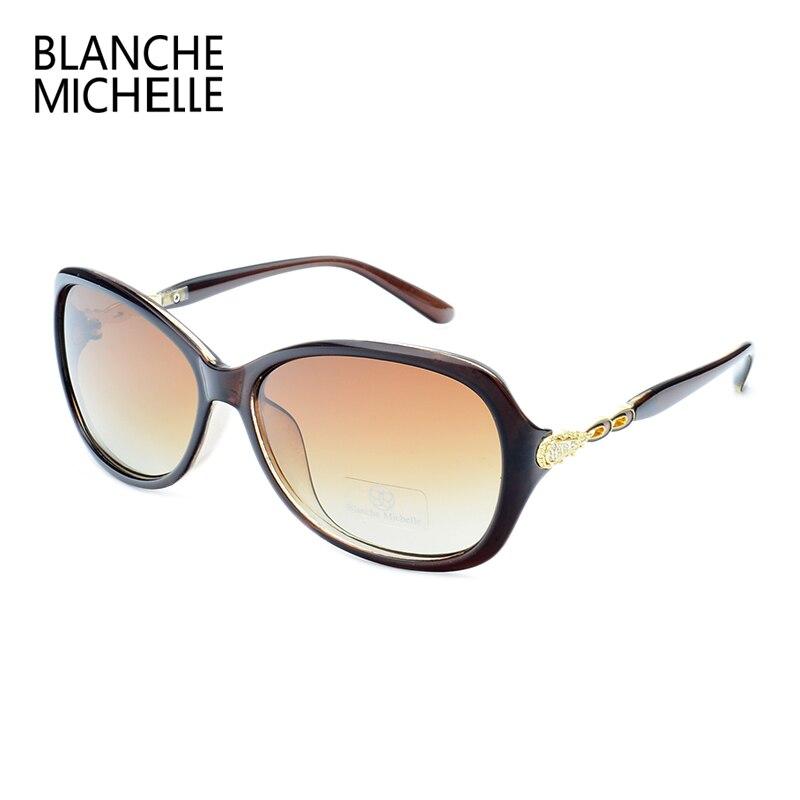 Blanche Michelle Luxury Butterfly Sunglasses Women Polarized UV400 Gradient Lens Sunglass Brand Designer Sun Glasses With Box 4