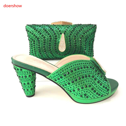 ¡doershow A Qualityafrican plata Mujer Negro rojo Italiano Que Diseño Bolsos verde azul Africanos Y Emparejan Juego 24 Superior lavanda Zapatos Vg1 De rgfrX