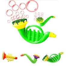 Детские игрушки для выдувания воды, пузырьковое мыло, пузырьковая выдувная игрушка для улицы, Детская забавная развивающая игрушка для улицы