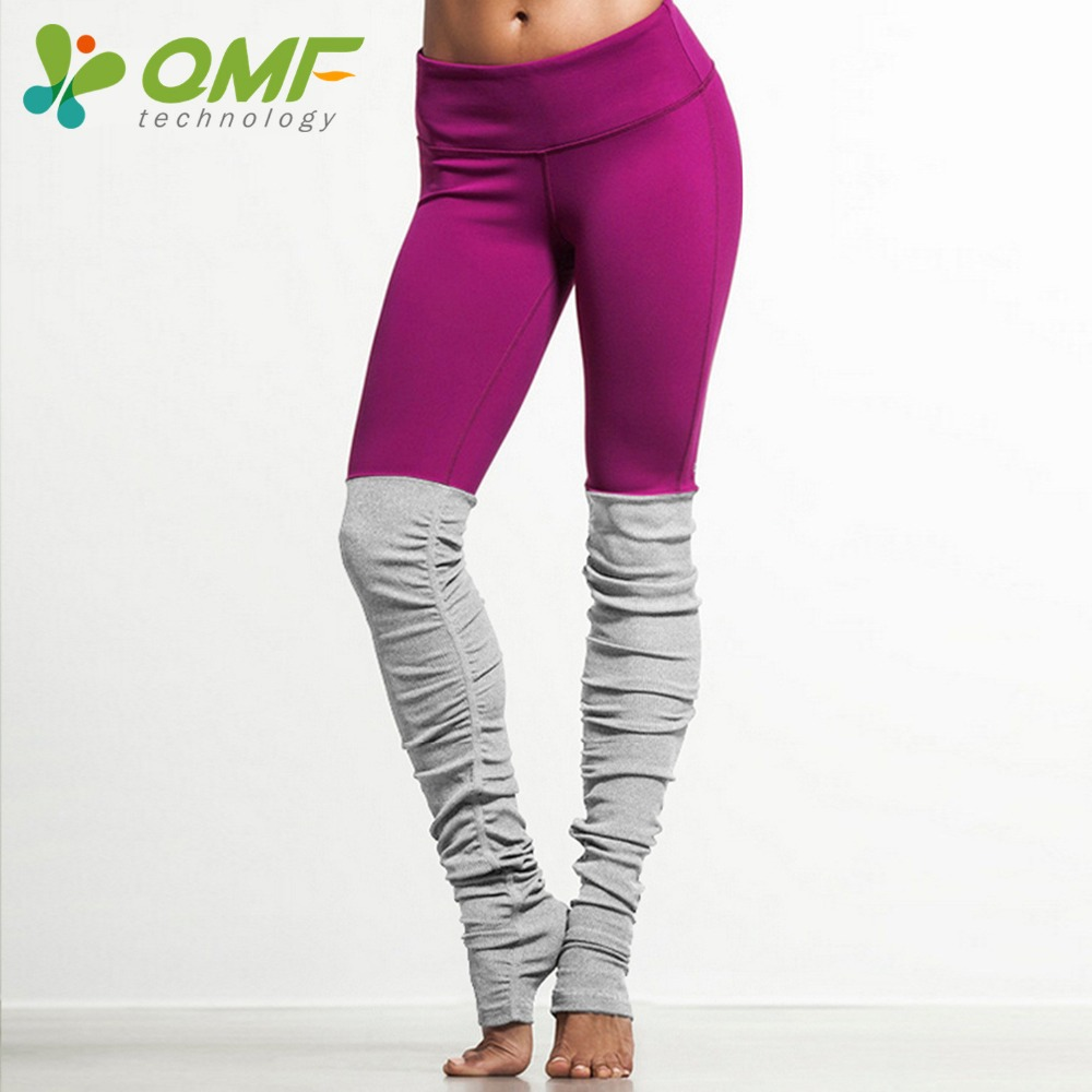 4f6390009b Green Running Tights Yellow Sports Leggings Pink Yoga Pants Patchwork Fitness  Skinny Pants Slim Women Gym Leggings Push Up Sexy-in Yoga Pants from Sports  ...