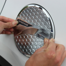 ABS Car Styling Auto Oil Cap Fuel Tank Cover Sticker Exterior Decoration For Kia Sportage 4 QL 2016 2017 2018 2019 Accessories for kia sportage 4 ql 2016 2017 2018 car styling interior dashboard instrument panel screen frame cover trim decoration sticker
