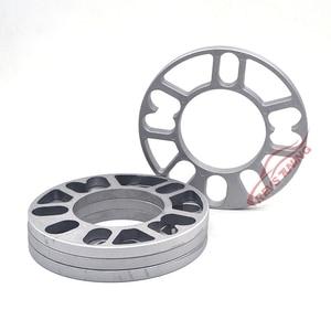 Image 5 - 4PCS/Lot 3mm 5mm 8mm 10mm Universal Aluminum Fit 4&5 Lug Car Wheel Spacer Shims Plate 4x100 4x114.3 5x100 5x108 5x114.3 5x120