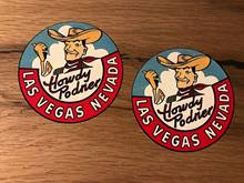 Pegatina Vintage de Las Vegas, autobús, Vintage, V8, USA, Retro Tuning, Oldschool #327