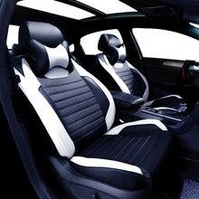 Housse de siège de voiture en cuir Pour Toyota Volkswagen Suzuki Kia Mazda Mitsubishi Subaru Honda Audi Nissan Hyundai accessoires style