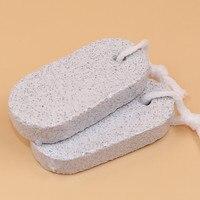 2 sztuk Dostaw do usuwania kamienia szlifowania kamienia owalne pumeks wulkaniczny kamień napalone kokon pielęgnacja stóp