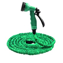 25FT-150FT Garden Hose Expandable Magic Flexible Water Hose EU Hose Plastic Hoses Pipe With Spray Gun To Watering