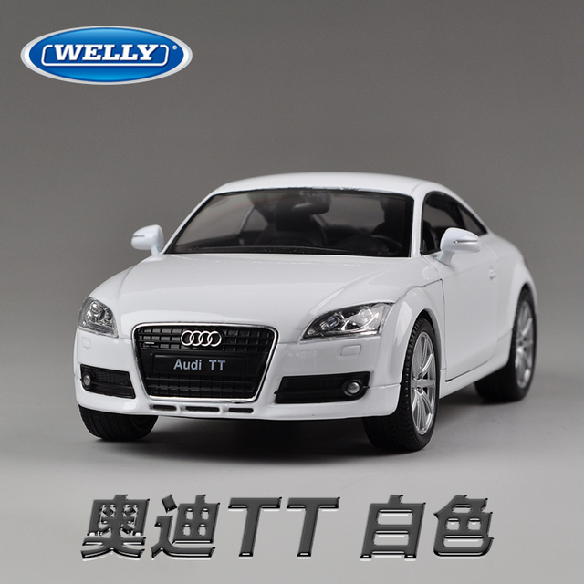 Brand New WELLY Scale Cool Car Model Toys AUDI TT Diecast Metal - Cool audi