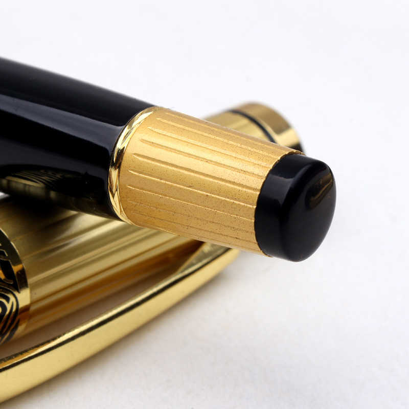 יוקרה מותג מתכת רולר עט יוקרה כדורי עטים עבור מתנות עסקיות כתיבה ספר משרד חומר מכתבים