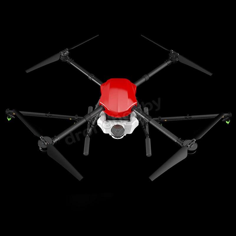 Cadre imperméable de drone d'agriculture de jet de 4 axes avec le système de pulvérisation de réservoir 10L aéronef sans pilote (UAV) se pliant d'empattement de 1300mm Hexacopter de 10 KG