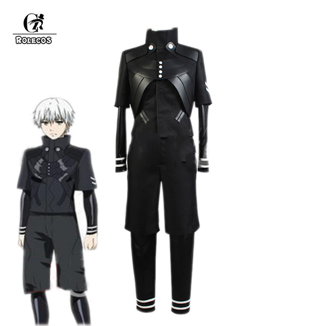 Rolecos Brand New Japanese Anime Tokyo Ghoul Cosplay Costumes Kaneki