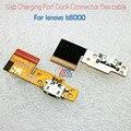 Peças de reposição originais conector dock de carregamento porta usb cabo flex para lenovo b8000 peças de reposição transporte rápido