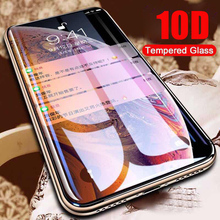 10D Curved Full Cover Anti Peeping Glare Privacy phone Screen Protector For iPhone 6 6S 7 8 Plus X XS MAX XR Tempered Glass film