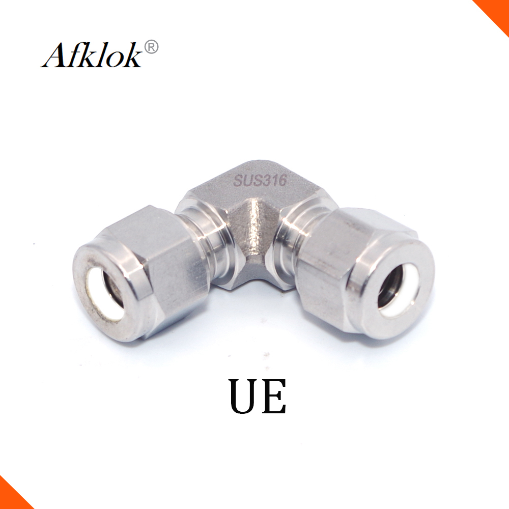 Equal Stainless steel 316 Union Elbow 14mm 15mm 16mm <font><b>18mm</b></font> 20mm 22mm 25mm <font><b>Pipe</b></font> <font><b>Fittings</b></font> image
