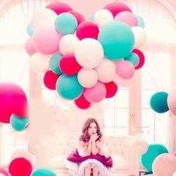 5 шт 36 Inch красочные большие воздушные шары из латекса гелиевые надувные гигантский Круглый Свадебный шар День рождения Большой шар