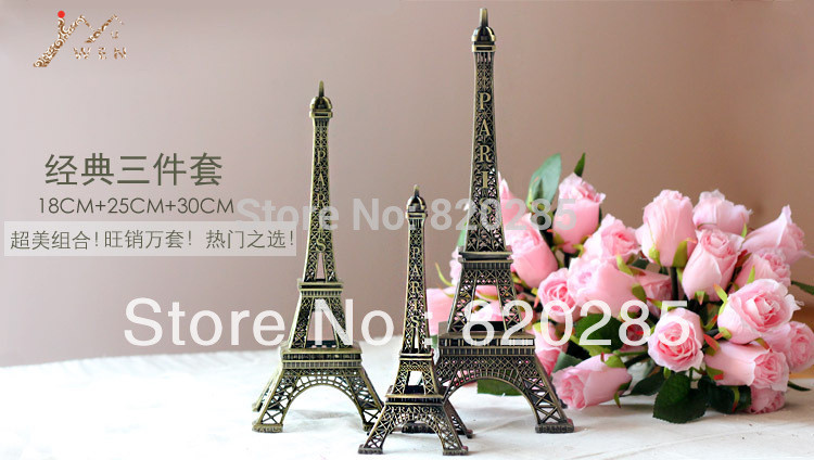 Top selling metal Eiffel Tower model for home decoration