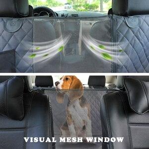 Image 3 - Prodigen Dog Car Seat Cover Waterproof Pet Transport Dog Carrier Car Backseat Protector Mat Car Hammock For Small Large Dogs