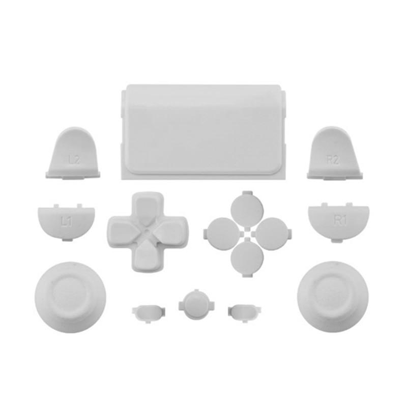 Melnās pilna komplekta rezerves daļu pogas PlayStation 4 PS4 - Spēles un aksesuāri - Foto 6