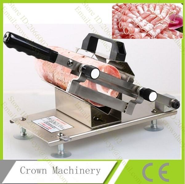 Gefrorenem Fisch, Wurst, Fleisch, Schinken Ect Slicer; Küche Werkzeuge  Maschinen Schweinefleisch Schneidemaschine
