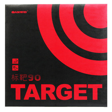 SANWEI 2019 New TARGET 90 (90% Sticky) Table Tennis Rubber Ping Pong Sponge