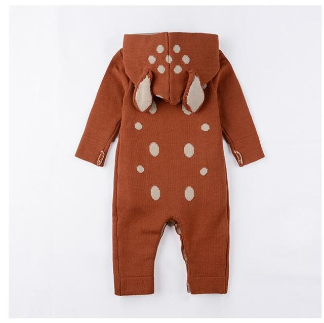 Knitted Animal Romper