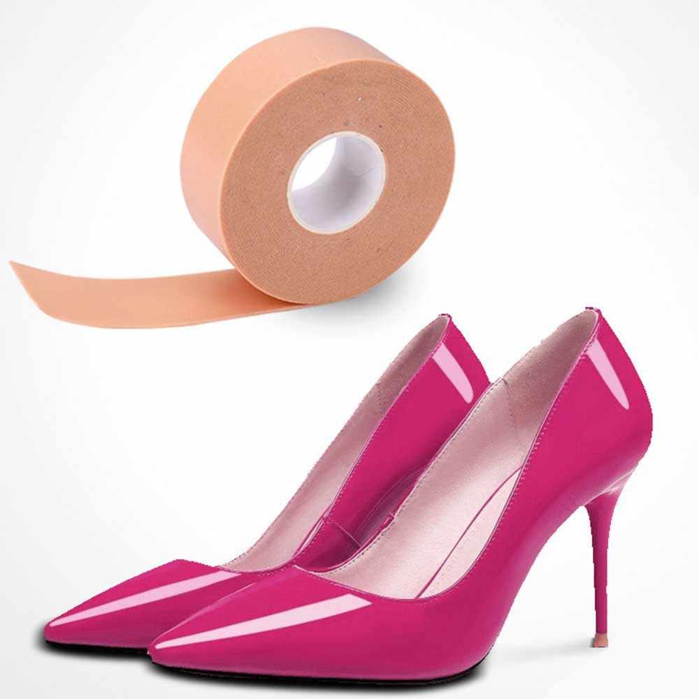 1 Roll Waterproof High-heeled Wear-resistanSticker Foam Tape Relief Pad Shoes Wear-resistant Patch Foot Protector Foot Care Tool