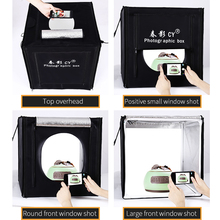 CY Professional 32 80x80x80cm Photo Studio light box LED soft box Shooting Light Tent photo box set for baby clothing lichtbak