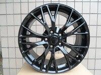 Gloss Black 19/20 inch 5x120.7 Staggered wheel rims W591
